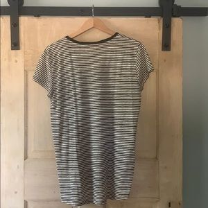 Madewell Tops - Madewell striped short sleeve tee